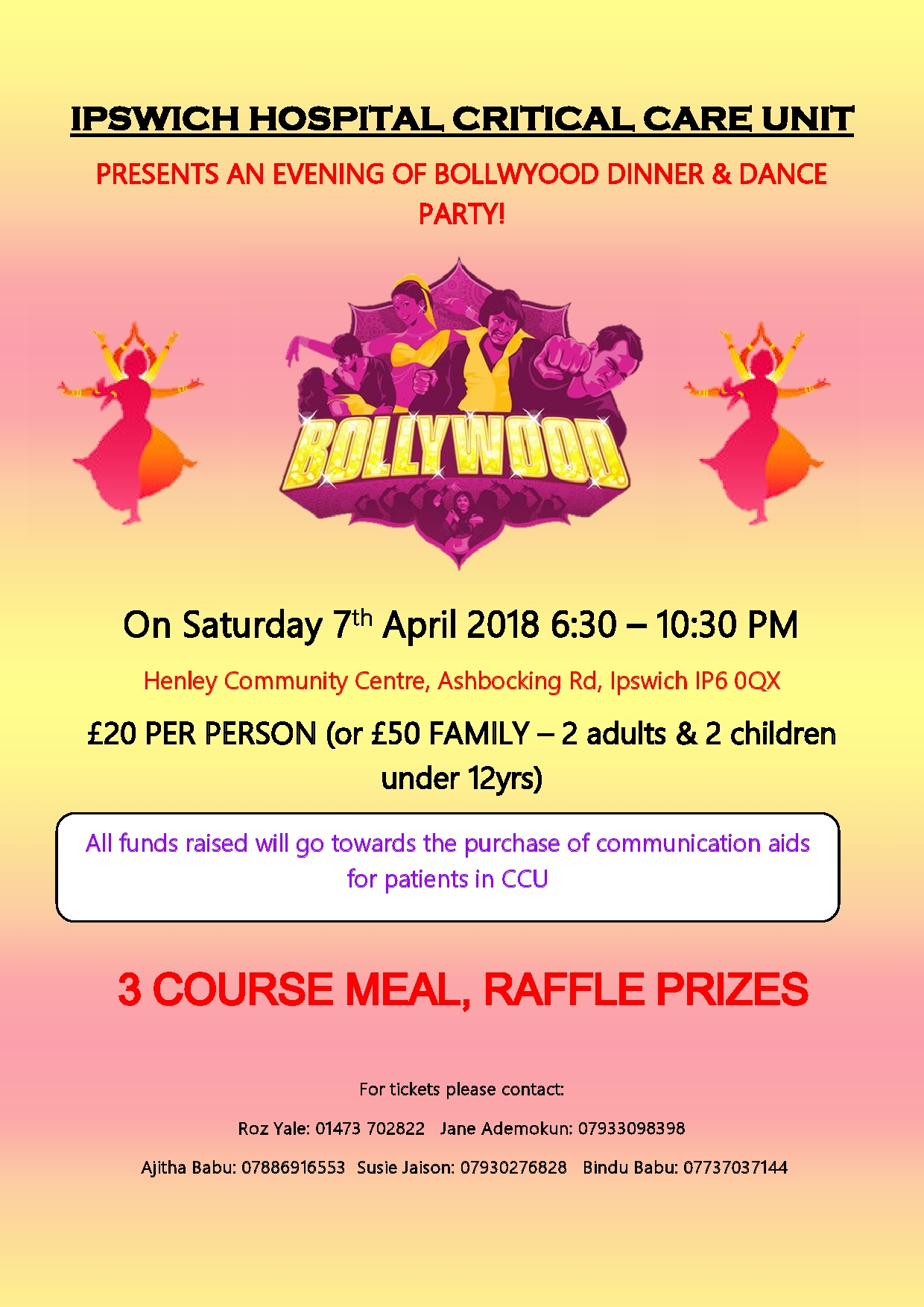 Bollywood Dinner and Dance