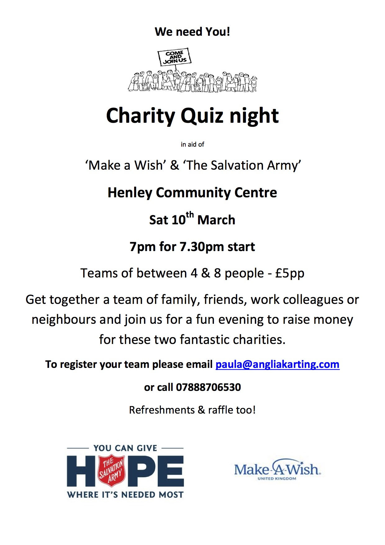 Charity Quiz Night